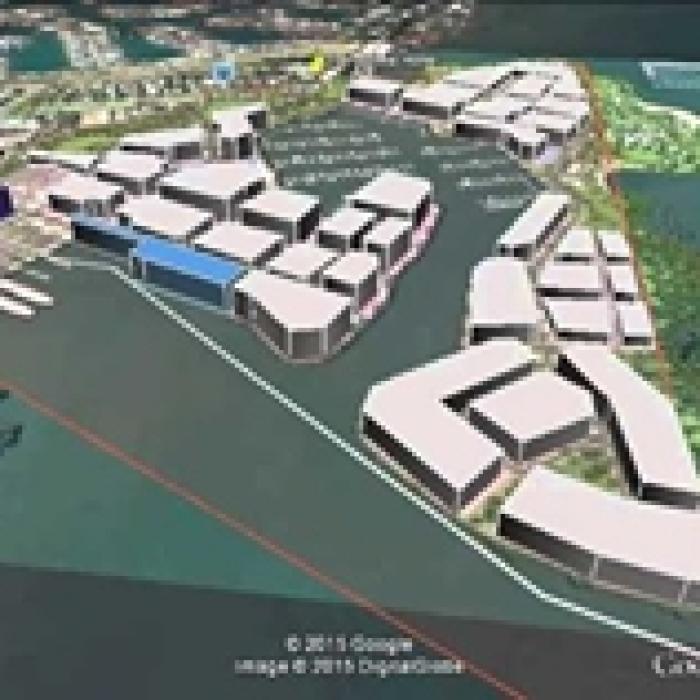 Toondah Harbour concept plan