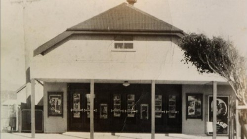 Sawtell Cinema - the original building