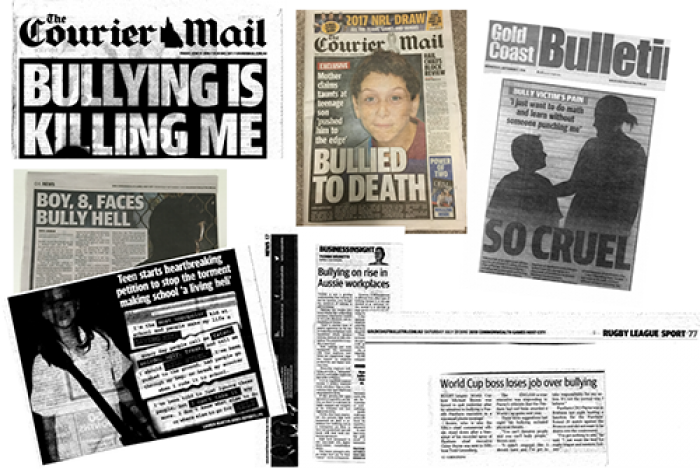 news articles on bullying